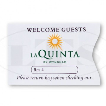 La Quinta Keycard Envelopes