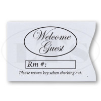 Generic Welcome Guest Keycard Envelopes