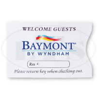 Baymont Inn & Suites Keycard Envelopes