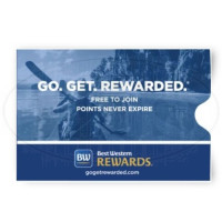 Best Western Rewards Keycard Envelopes