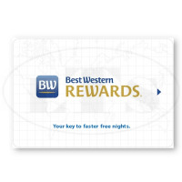 Best Western Rewards Keycard Combos