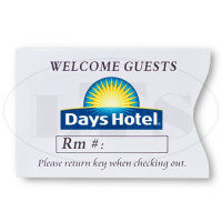 Days Hotel Keycard Envelopes
