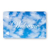 Generic Welcome Cloud Magstripe Keycards