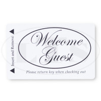 Generic Welcome Guest Magstripe Keycards