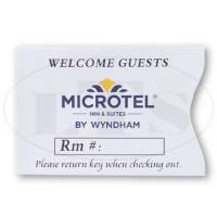 Microtel Keycard Envelopes