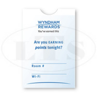 Wyndham Rewards Keycard Envelopes