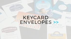 Shop Lock Tech Key Card Envelopes